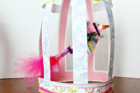 easy craft for kids paper birdcage live randomly simple