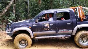mitsubishi adventure modified toyota sr 4x4 offroad adventure youtube