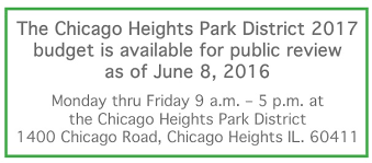 chicago heights park district