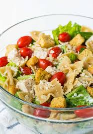 Creamy Pasta Salad Recipes by Chicken Caesar Pasta Salad Well Plated By Erin