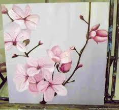decor simple flower painting ideas for beginners bar storage