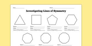 awesome collection of shapes and symmetry worksheets for your