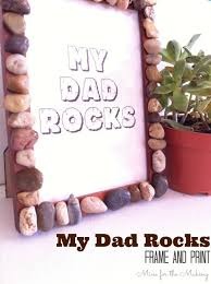 my rocks frame and free print for s day at mine for the