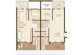 bungalow ground floor plan avantis group umiya bungalow