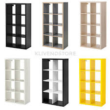 libreria kallax ikea kallax libreria 8 posti scaffale rovere nero bianco betulla