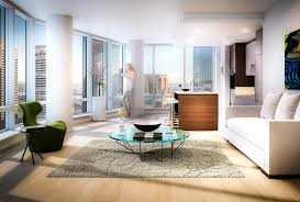 Livingroom Boston by Millennium Tower Boston Bushari Group Real Estate