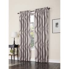 Drapes Discount Furniture Black And White Thermal Curtains Black And White