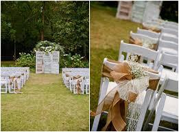 small backyard wedding ideas for spring simple backyard wedding