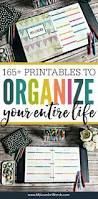 this organized life binder tour printable planner a5 and free