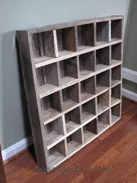 Desk Cubby Organizer Pallet Wood Cubby Organizer Shelves Diy Reduce Reuse Repurpose