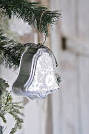 silver bell ornaments handmade with petticoat junktion