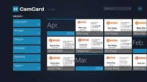 App For Scanning Business Cards Get Camcard Professional Business Card Reader Microsoft Store
