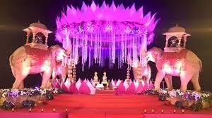 wedding stage decoration service in alandi devachi pune godse