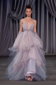 wedding dress daily project runway with bridal lines blue colors christian