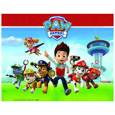 paw patrol table cover big