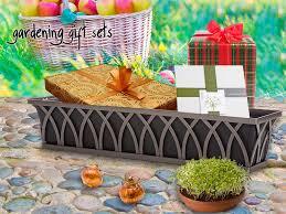 seed starter kits gardening gift ideas window box kits