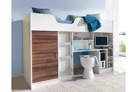 hochbett mit schreibtisch und sofa hochbett für mehr platz im kinderzimmer bei baur de