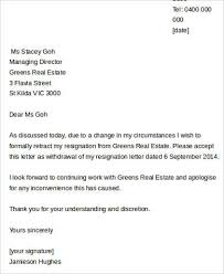 sample job resignation letter 8 examples in word pdf