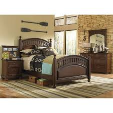 4 Poster Bedroom Set Manning 4 Piece Full Bedroom Set