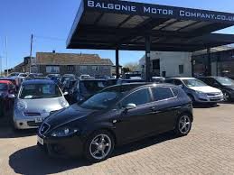 used seat leon hatchback 2 0 tdi dpf fr 5dr in lochgelly fife
