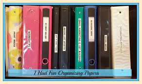 the first time i ever had fun organizing paper cluttershrink blog