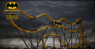New York Six Flags Great Adventure Batman The Ride At Six Flags Fiesta Texas Opening Summer Of 2015