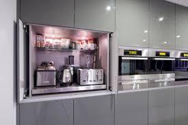 cabinet doors that slide back innovative kitchen cabinet doors