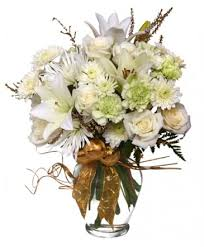 floral arrangement sparkling winter flower arrangement in new york ny flowers
