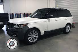 matte white range rover satin pearl white range rover wrap wrap bullys