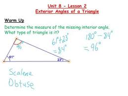 What Is Interior And Exterior Angles Sum Of Interior Angles And Exterior Angles Sum Of Interior Angles