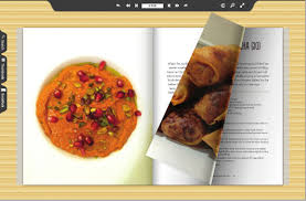 ebook cuisine flippable ebook brings rich content to the cooking industry whatech