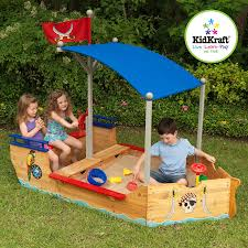 amazon com kidkraft pirate sandboat toys u0026 games