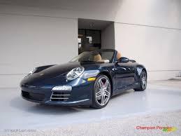 porsche carrera 911 4s 2010 dark blue metallic porsche 911 carrera 4s cabriolet 26832001