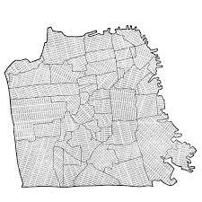 san francisco map quilt sf neighborhood map from reddit r sanfrancisco san francisco
