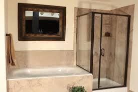 bathroom endearing shower tub combo design featuring clean glass bathroom divine shower tub combo