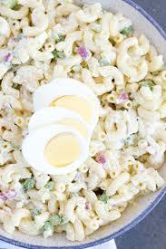 pasta salad with mayo best ever classic macaroni salad summer side dish