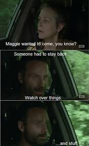 Walking Dead Stuff And Things Meme - 30 hilarious walking dead memes from season 4 from dashiell driscoll