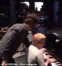 10 Year Old Blind Autistic Boy Ben Folds Meets 11 Year Old Blind And Autistic Piano Player Ahead