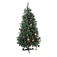 homegear alpine deluxe 6ft artificial green tree