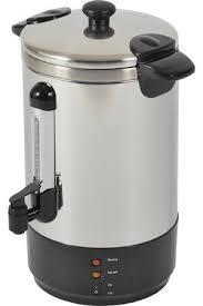 machine à café grande capacité pour collectivités et bureaux cafetière filtre kitchen chef percolateur café zj150 zj150 darty