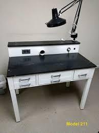 Dental Lab Bench Dental 3 Person Workstation Bench Ax Yt1 Laboratory W Dust