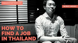 an expat u0027s guide to finding work in thailand thailand starter kit