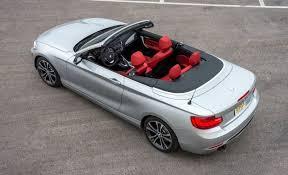 bmw 320i convertible review 2016 bmw 2 series convertible now with better seats from 39 645
