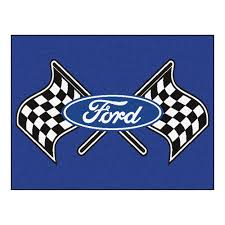 Ford Racing Flag Big Automotive Car Floor Mats Bargainbrute Com