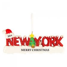 new york words taxi personalized ornament