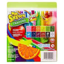 mr sketch scented twistable crayons 12ct multicolor target