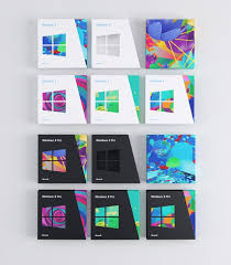 windows 8 designs 8 packaging design artworks by colors and the