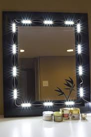 makeup mirror with led lights vanity mirror led light package led updates