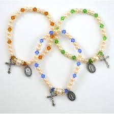 birthstone rosary birthstone rosary stretch bracelets st patricks guild