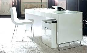 white high gloss desk high gloss office desk high gloss computer desk white contemporary